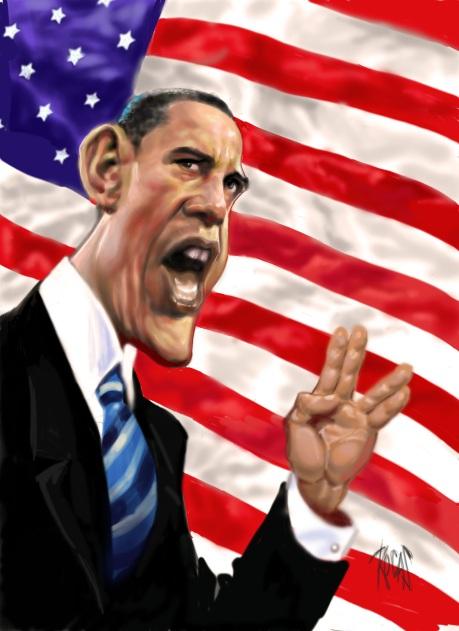 Obama vulcan